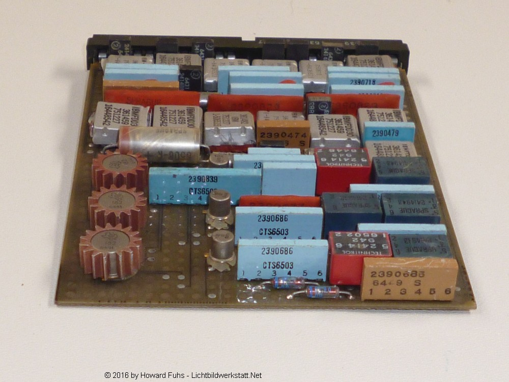IBM System/360 Solid Logic Technology Card PCB Printed Circuit Board ca. 1965